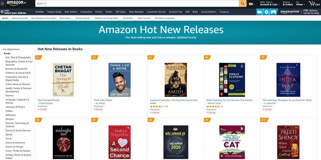 amazon news release