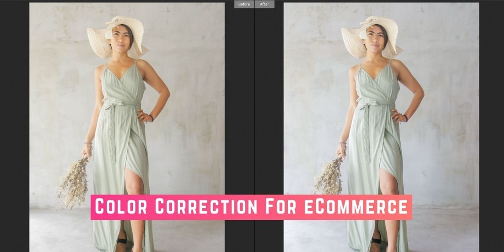 Why is Color Correction in eCommerce important and How To do