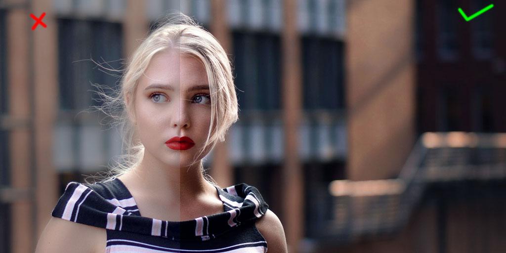 Fashion Photography Mistake - Flattening Image
