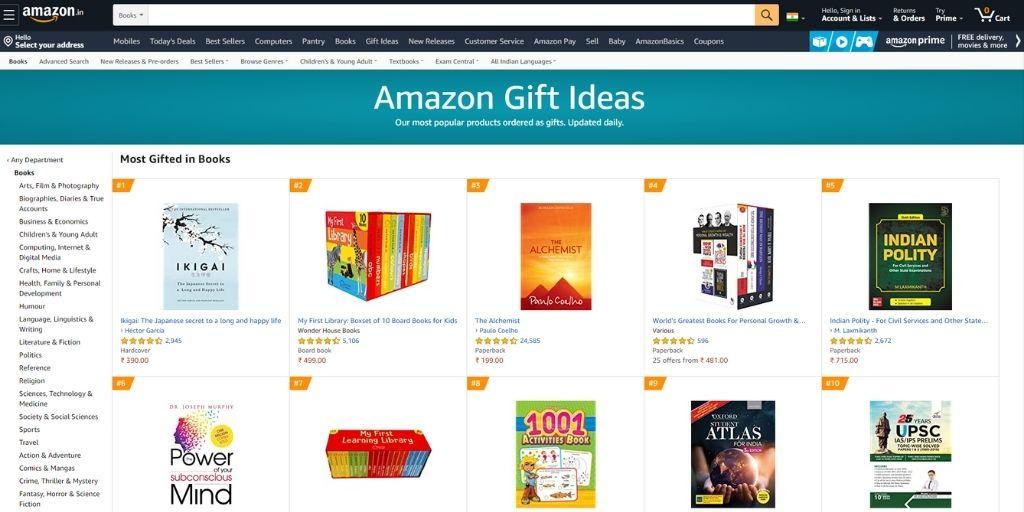 amazon gift idea