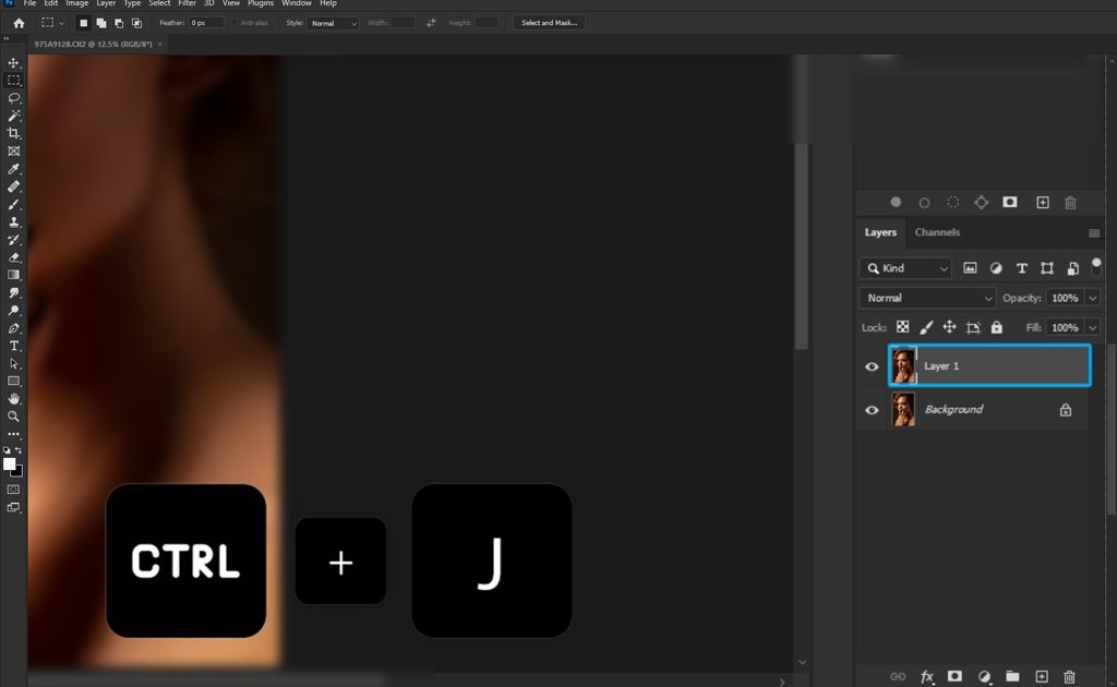 Remove Skin Blemishes in Photoshop