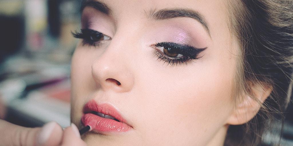 Makeup on Models for Online Store Lookbook