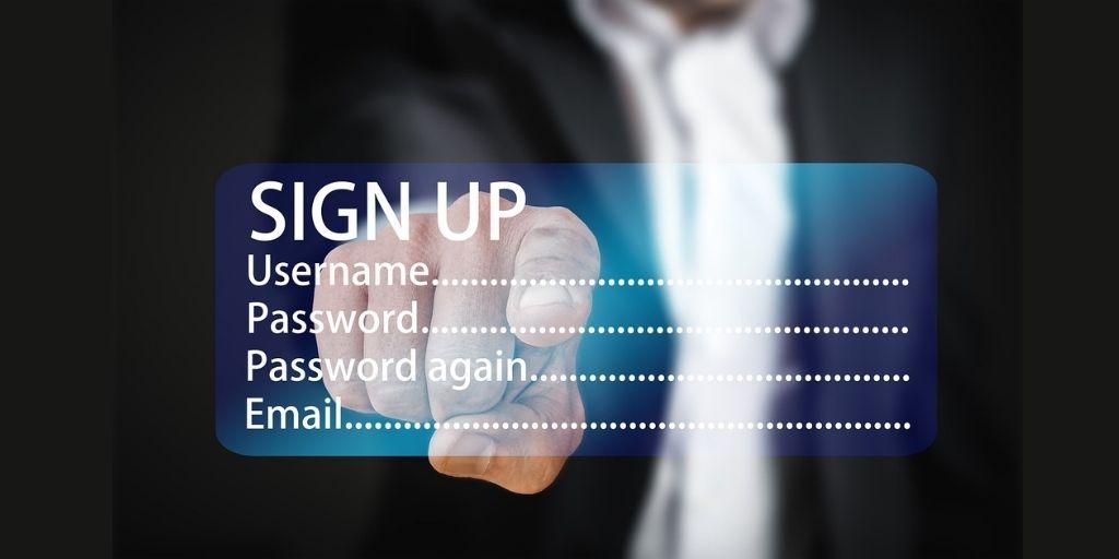 make Sign up easy